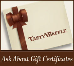 Tasty Waffle gift cards available